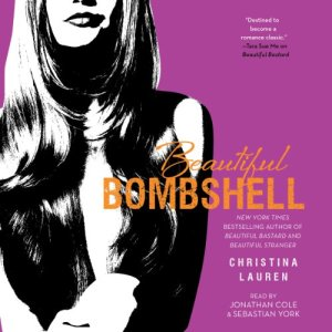 Beautiful Bombshell audiobook cover art