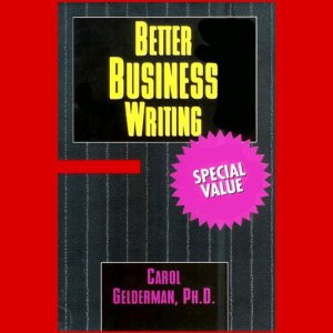 Better Business Writing audiobook cover art