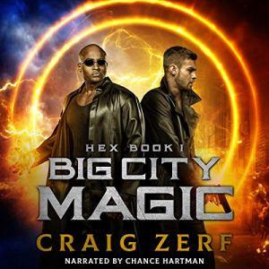 Big City Magic audiobook cover art