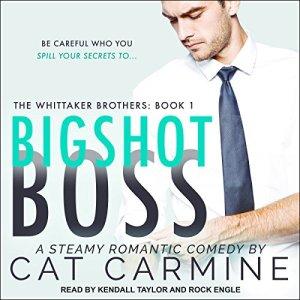 Bigshot Boss audiobook cover art