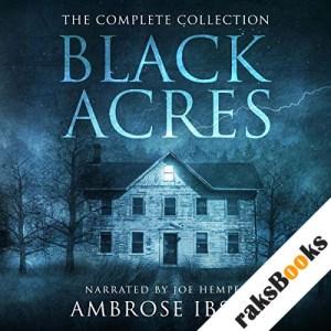 Black Acres audiobook cover art