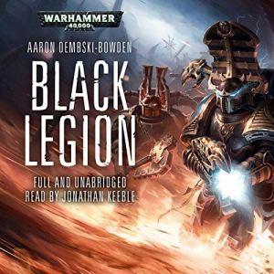 Black Legion: Warhammer 40,000 audiobook cover art