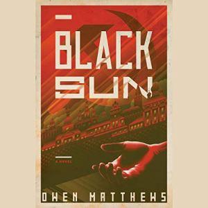 Black Sun audiobook cover art