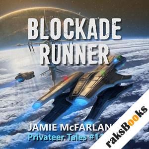 Blockade Runner audiobook cover art