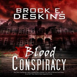 Blood Conspiracy audiobook cover art