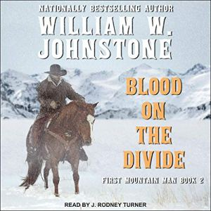 Blood on the Divide audiobook cover art