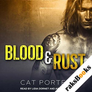 Blood & Rust audiobook cover art