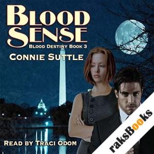 Blood Sense audiobook cover art