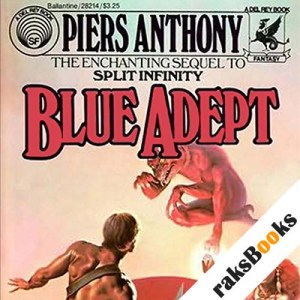 Blue Adept audiobook cover art