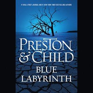 Blue Labyrinth audiobook cover art