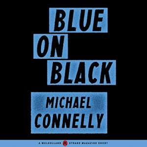 Blue on Black audiobook cover art