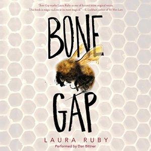 Bone Gap audiobook cover art