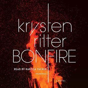 Bonfire audiobook cover art