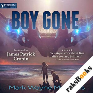 Boy Gone audiobook cover art