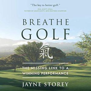 Breathe GOLF audiobook cover art
