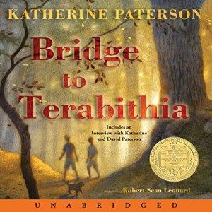 Bridge to Terabithia audiobook cover art