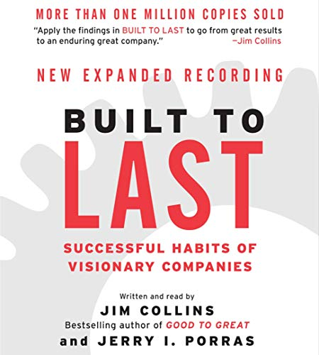 Built to Last audiobook cover art