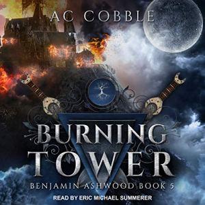 Burning Tower audiobook cover art