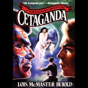 Cetaganda audiobook cover art