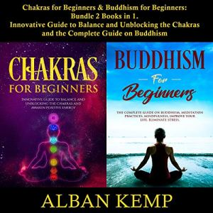 Chakras for Beginners & Buddhism for Beginners: Bundle, 2 Books in 1 audiobook cover art