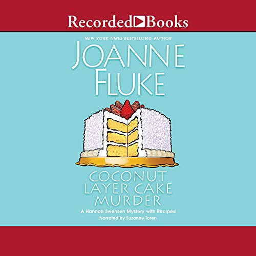 Coconut Layer Cake Murder audiobook cover art
