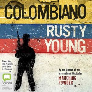 Colombiano audiobook cover art