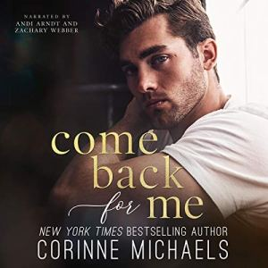 Come Back for Me audiobook cover art