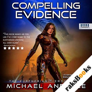 Compelling Evidence audiobook cover art
