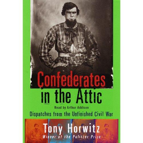 Confederates in the Attic audiobook cover art