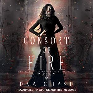 Consort of Fire: A Paranormal Reverse Harem Novel audiobook cover art