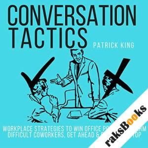 Conversation Tactics audiobook cover art