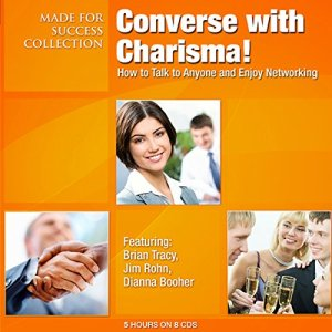 Converse with Charisma! audiobook cover art