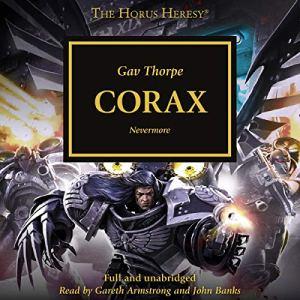 Corax audiobook cover art