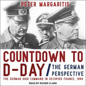 Countdown to D-Day audiobook cover art