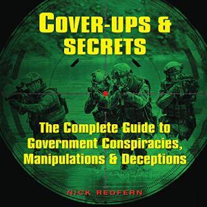 Cover-Ups & Secrets audiobook cover art