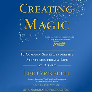 Creating Magic audiobook cover art