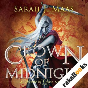 Crown of Midnight audiobook cover art