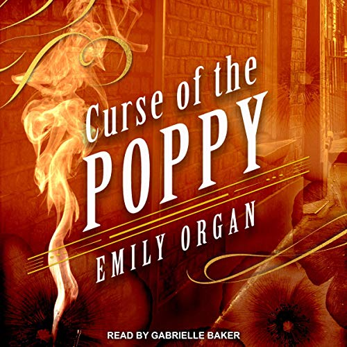 Curse of the Poppy audiobook cover art