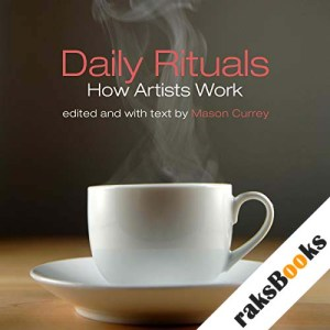 Daily Rituals audiobook cover art