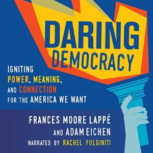 Daring Democracy audiobook cover art