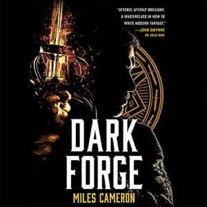Dark Forge audiobook cover art