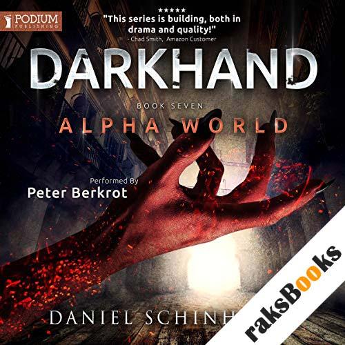 Darkhand audiobook cover art