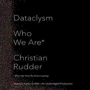 Dataclysm audiobook cover art