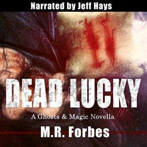 Dead Lucky audiobook cover art