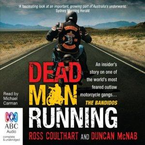 Dead Man Running audiobook cover art