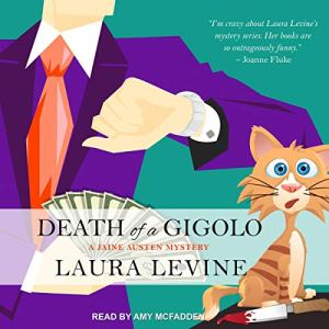 Death of a Gigolo audiobook cover art