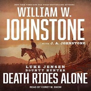 Death Rides Alone audiobook cover art