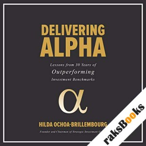 Delivering Alpha audiobook cover art