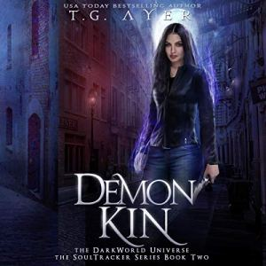Demon Kin audiobook cover art