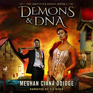 Demons and DNA audiobook cover art
